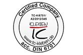 DIN6701 德国粘接认证,轨道交通行业公认的粘接标准